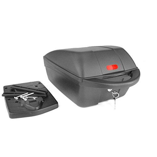 Polisport Pakethållare box toppfodral, svart, 05120100