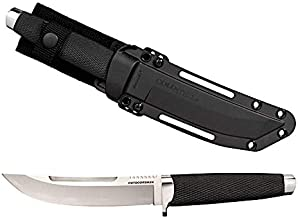 Cold Steel Outdoorsman Fixed Blade Knife with Sheath, Outdoorsman in San Mai Steel, 6.0 Inch Blade (35AP)