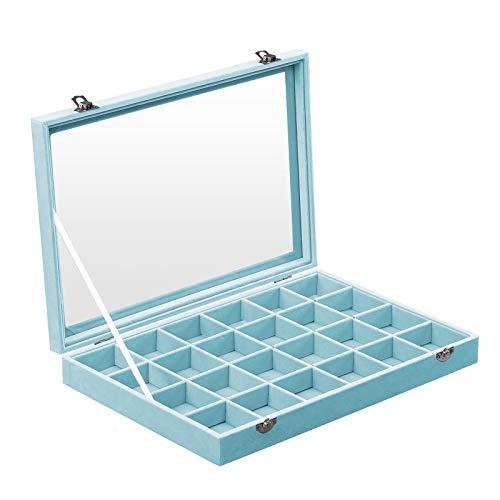 SONGMICS Jewelry Box Display Case w…