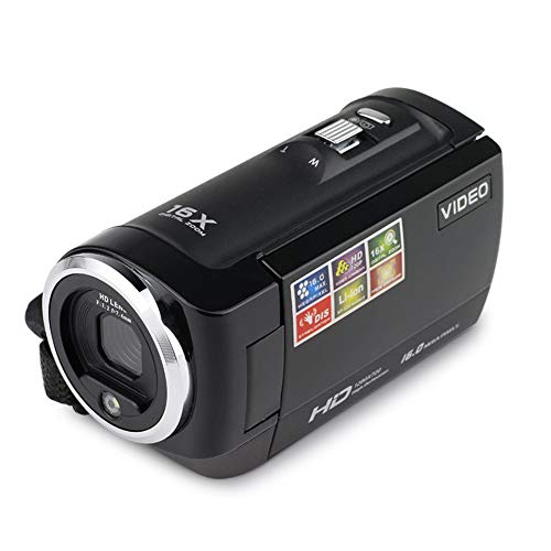 LYHLYH Action Camera 4K,16 megapixel Digital high-Definition Camcorder Home Portable Amera Selfie Video Recorder Waterproof Camcorder Ski Cam Rotatable 270°,s
