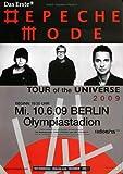 Depeche Mode - Berlin, Berlin 2009 » Konzertplakat/Premium
