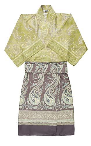 Bassetti Scauri Kimono, Grün, S-M