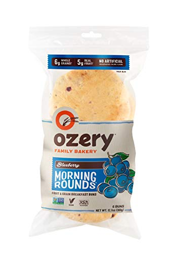 Ozery Bakery Blueberry Morning Rounds, 6-Count Bag (2-Pack)