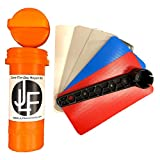 JLF Repair Kit for Inflatable Stand Up Paddle Boards (SUP) | Includes Red, White, Blue, Clear Grey PVC and Wrench (No Adhesive)