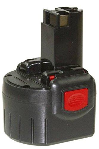 Akku für Bosch GDR, GSR, PRA, PAG, PSR, RT, 9,6V, 2 Ah, BAT100, 2607001380, 260700180