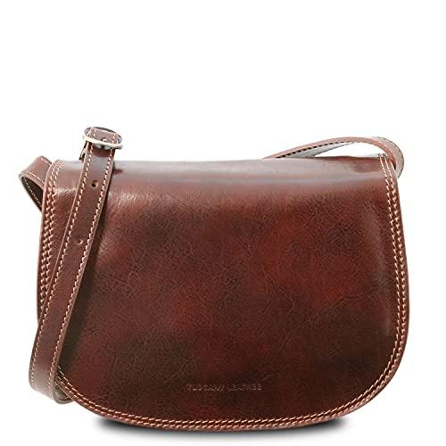 Tuscany Leather Isabella Borsa in pelle da donna Marrone