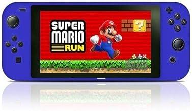OSTENT Capa protetora de silicone antiderrapante para controle de console Nintendo Switch, cor azul