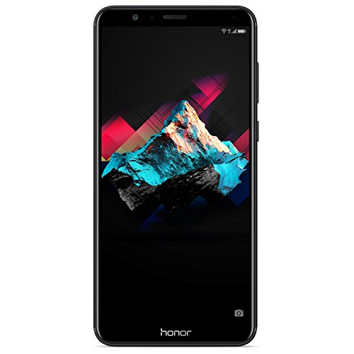 Honor 7X - Smartphone (15.1 cm (5.93'), 64GB, 4GB RAM, 16 MP, Android 7.0, Black)