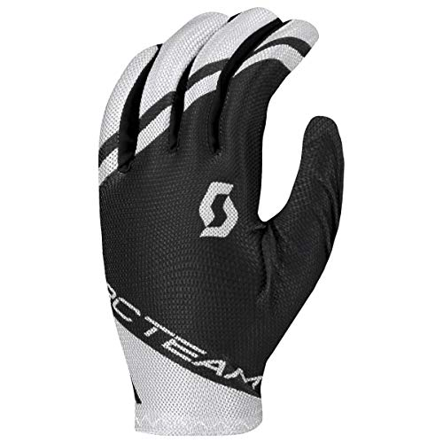 Scott RC Team Fahrrad Handschuhe lang schwarz/weiß 2020: Größe: M (9)
