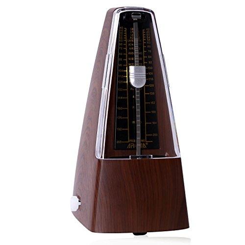 CAHAYA Mechanische Metronom Click Glocke Laut Sound/High Precision für Klavier/Gitarre/Violine/Drum und andere Instrumente