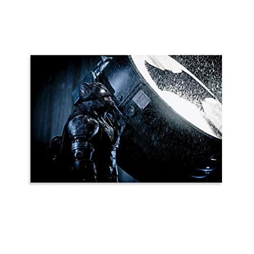 DRAGON VINES Marco de fotos de Batman Lamp Armor para colgar en la pared, 50 x 75 cm