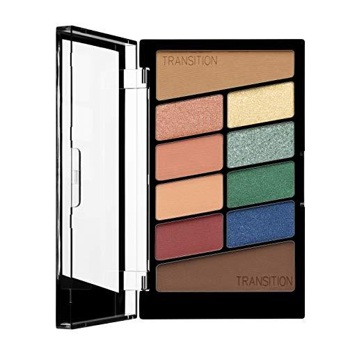 Wet n Wild - Color Icon 10 Pan Palette - Palette Ombretti Occhi Makeup - 10 Colori, Mix di Finish Shimmer e Matte per Look Giorno e Sera - Tenuta Estrema, Facile da Sfumare - Vegan - Stop Playing Safe