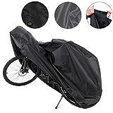 Toruiwa Housse de Protection pour Vélo Imperméable Anti-Pluie Anti-poussière Bâche de Moto Bicyclette Vélo XL