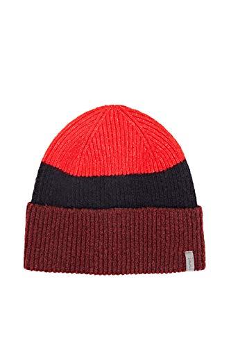 ESPRIT Accessoires Damen 110EA1P320 Winter-Hut, 600/BORDEAUX RED, 1SIZE