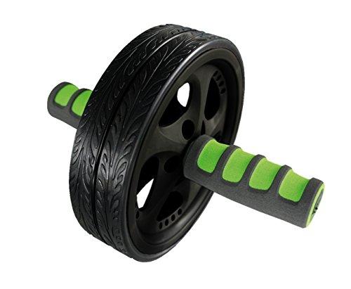 Schildkröt Fitness SK Fitness AB-Roller-Bauchtrainer (Duo Wheel), schwarz/Grün/anthrazit