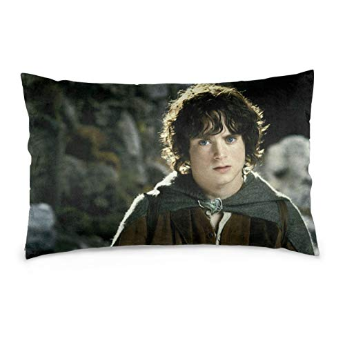 fellowship of the ring Aragorn The Lo-rd of the Ri-ngs horror Gandalf the Gray Pillow Cover living room,bed set things with waterproof mothers day present 14'x20'