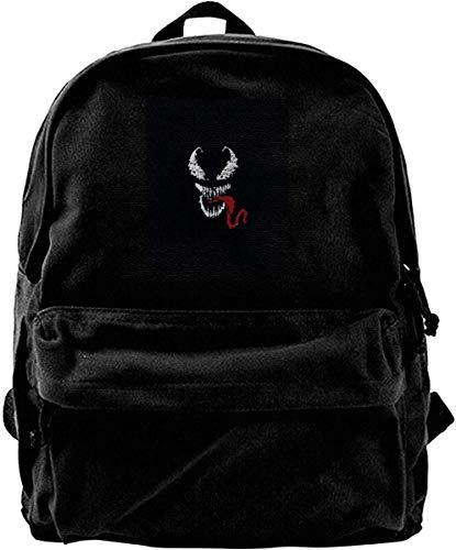 Homebe Mochila antirrobo Impermeable,Canvas Backpack Ve-Nom Rucksack Gym Hiking Laptop Shoulder Bag...