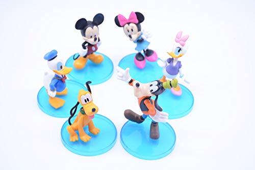 6 Styles Mickey Mouse und Donald Duck Spielzeug-Puppe Puppe Dekoration Kuchen Backzubehör