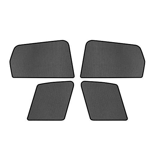 LFOTPP Pare-Soleil Voiture pour Honda HR-V Vezel 2016+, Parasols Magnétiques Window Sunshades, Protection UVA pour Bébés Solaire Noir (4 pièces)