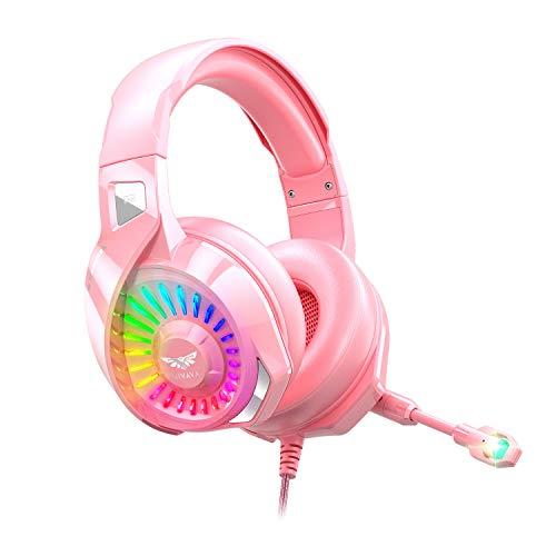 audífonos kawaii de la marca Nivava