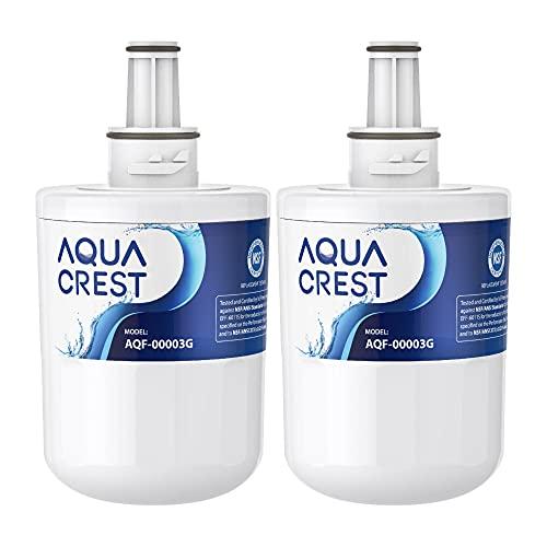 AQUACREST DA29-00003G Filtro acqua Frigorifero, Compatibile con Samsung Aqua Pure PLUS DA29-00003G DA29-00003B DA29-00003A DA97-06317A HAFCU1 XAA HAFIN2 EXP (2)