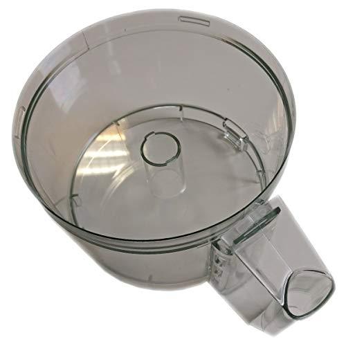 Magimix 4100 Bol pour robot culinaire en acier inoxydable 18/8 Transparent