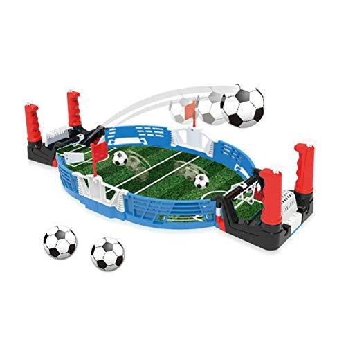 N-A Mini Tabletop Fußballspiel Desktop Tischfußball Tischfußball Fußball Kinder Familie Spielspielset Interaktives Training Fußballschießen Indoor-Arcade-Spiel Fun Set