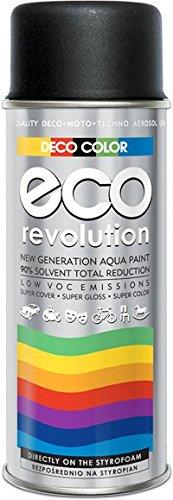 DECO COLOR ECO Revolution Water Based ACRYL Spray Paint 400ml STYROFOAM...