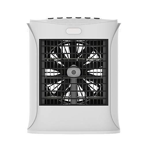 Portable Climatiseur, Mini multifonctions Humidifier Climatiseur Cooler avec Bluetooth Haut-parleur 7 LED couleur claire, for le bureau Bureau, Dorm, Chambre et extérieur Pour l'été