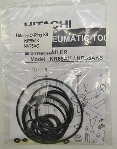 NR65AK NV75AG O-Ring Kit New products, world's highest quality popular! Nashville-Davidson Mall For Hitachi 2