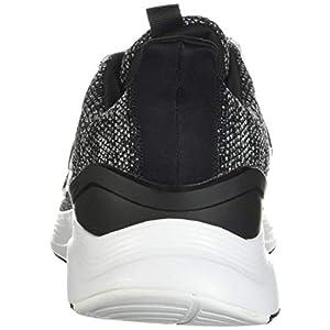 adidas mens Energyfalcon Running Shoe, Black/Black/White, 11 US