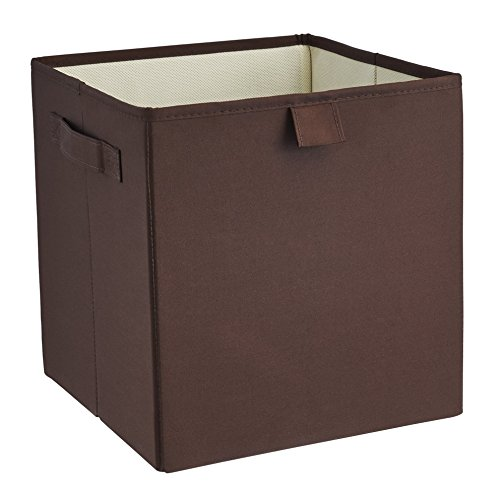 ClosetMaid 16086 Premium 2-Handle Storage Bin, Coffee Bean