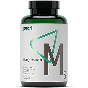Pure Pharma - M3 Essential Minerals - Magnesium & Zinc - 120 Caps:Peliculas-gratis