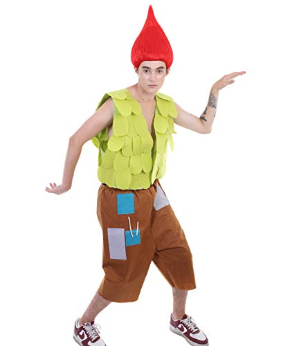 Halloween Party Online HPO Men's Branch Costume   Troll Costume Adult Large