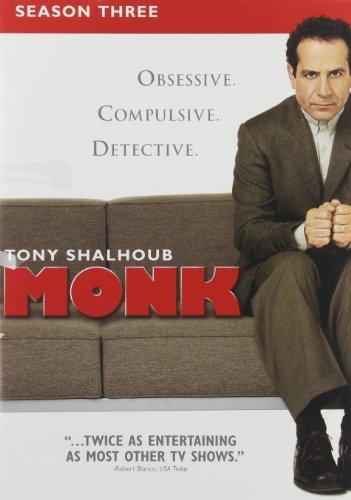 Monk: Season Three [Importado]