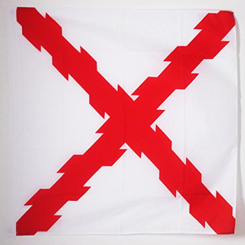 AZ FLAG Bandera de la Cruz DE BORGOÑA 90x90cm para Palo - Bandera Ejercito DE Francia 90 x 90 cm