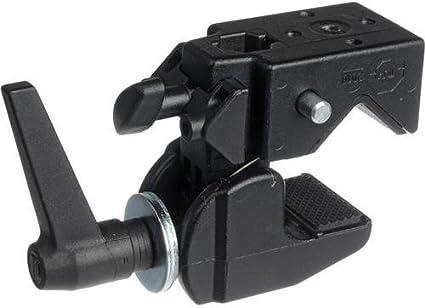 Superclamp 035 Negro 2 Secciones Negro Brazo para c/ámaras Digitales con espigote y Conector de c/ámara Manfrotto 196B-2 Sistema de fijaci/ón para tr/ípode