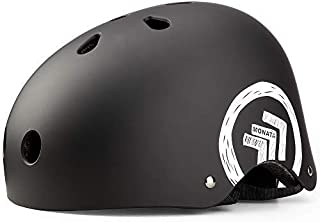 MONATA Skateboard Bike Helmet-CPSC Certified for Youth & Adults Multi-Sport Cycling,Roller Skating,Skateboarding,Scooter,Longboarding,Rollerblading