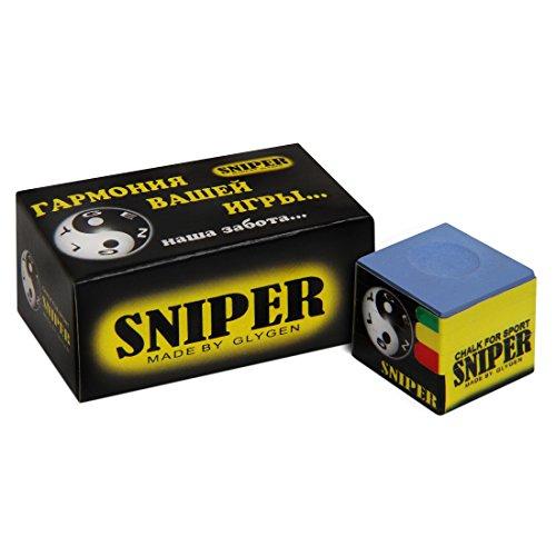 Glygen Billardkreide Sniper blau