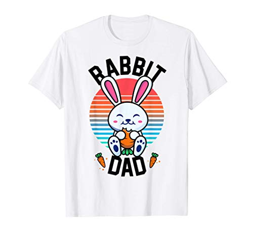 Rabbit Dad Bunny Shirt For Boys Men Rabbit Lover Gifts Pet T-Shirt -  Bunny by Joy Haus