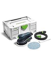 Festool Excenterschuurmachine ETS EC150/5 EQ-Plus Fabrikantnr. 575042, zwart/groen