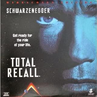 total recall widescreen laser disc, schwarzenegger