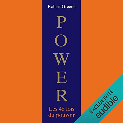 Power. Les 48 lois du pouvoir audiobook cover art