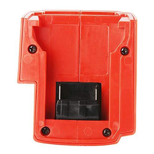 TOHHOT Adapter Ersatz mit Steuerschalter für Milwaukee Adapter 49-24-2371 M18 USB Adapter