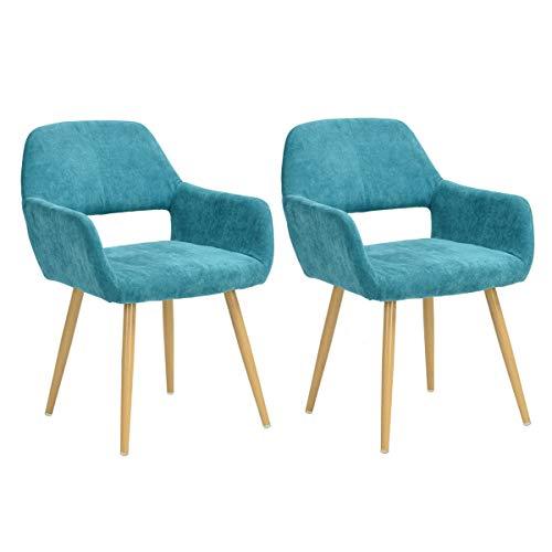 puff con patas de madera de la marca FurnitureR