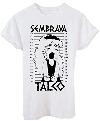 IMAGE T-Shirt Sembrava Talco Pollon Foto Segnaletica - Anime & Videogames