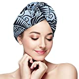 Ultra Absorbent Hair Towel Wrap,Hands Free...