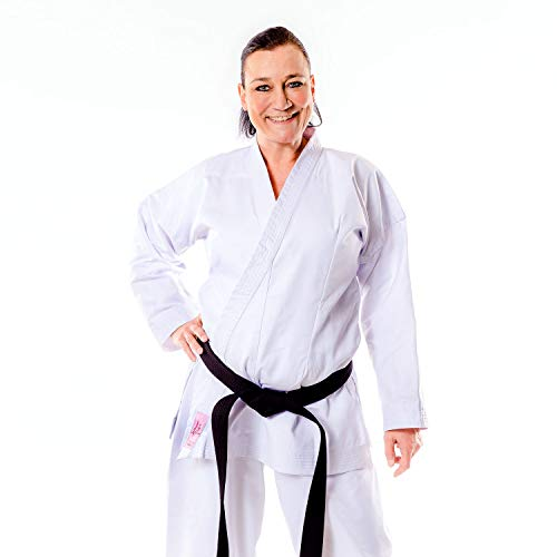Momoko Damen Karateanzug HIME für Frauen 10 oz weiß (170)