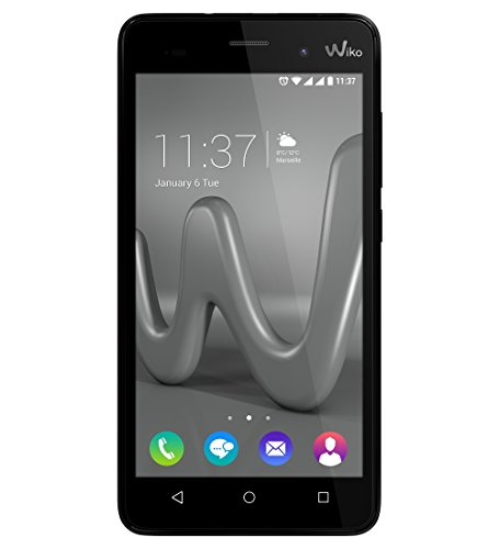 Wiko 9631 Lenny 3 Smartphone (12,7 cm (5 Zoll) IPS HD-Display, 16GB interner Speicher, Android 6.0 Marshmallow) schwarz