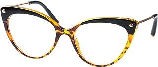 SOOLALA Ladies Oversized Cat Eye Reading Glass Modern...